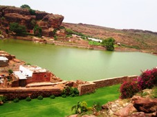 Lake at Badami