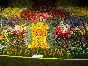 Flower Display at the Show.