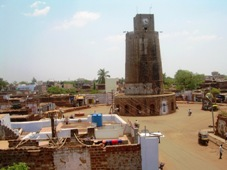 Bidar chowbaar tower clock