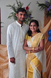 Kerala bride and groom