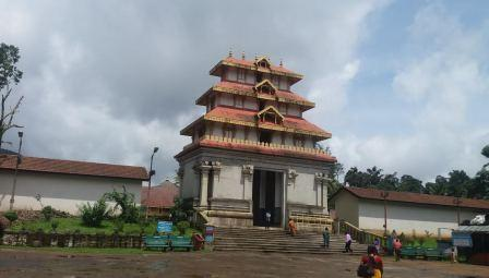 Bhagamandal temple Coorg
