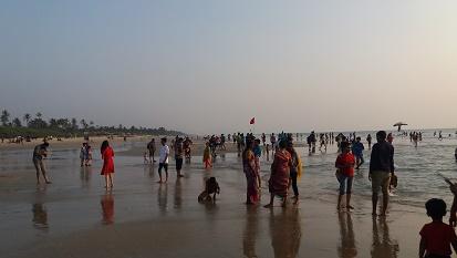 Calangunte Beach, Goa