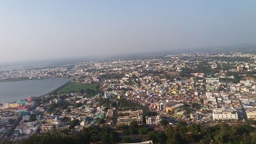 View down Palani Murugan temple