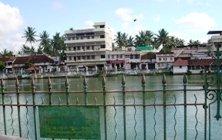 Sri Padmanabhaswamy temple pond, Kerala